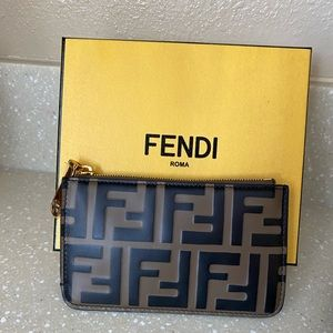 Fendi Colin Case Wallet Key Chain
